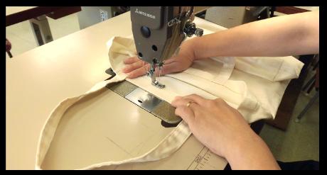 縫製イメージ